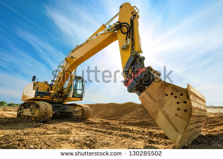 stock-photo-big-excavator-on-new-construction-site-in-the-background-the-blue-sky-and-sun-130285502