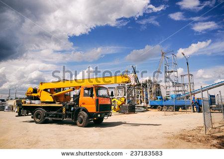 stock-photo-construction-site-construction-machinery-bulldozer-excavation-factory-237183583